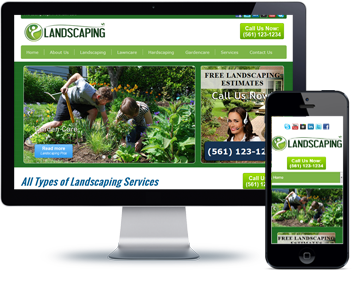 Landscaping website pic