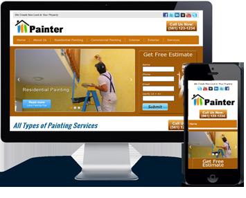 painter website pic